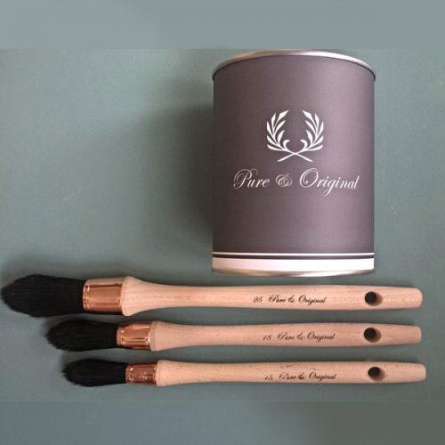 Pure and Original round brushes