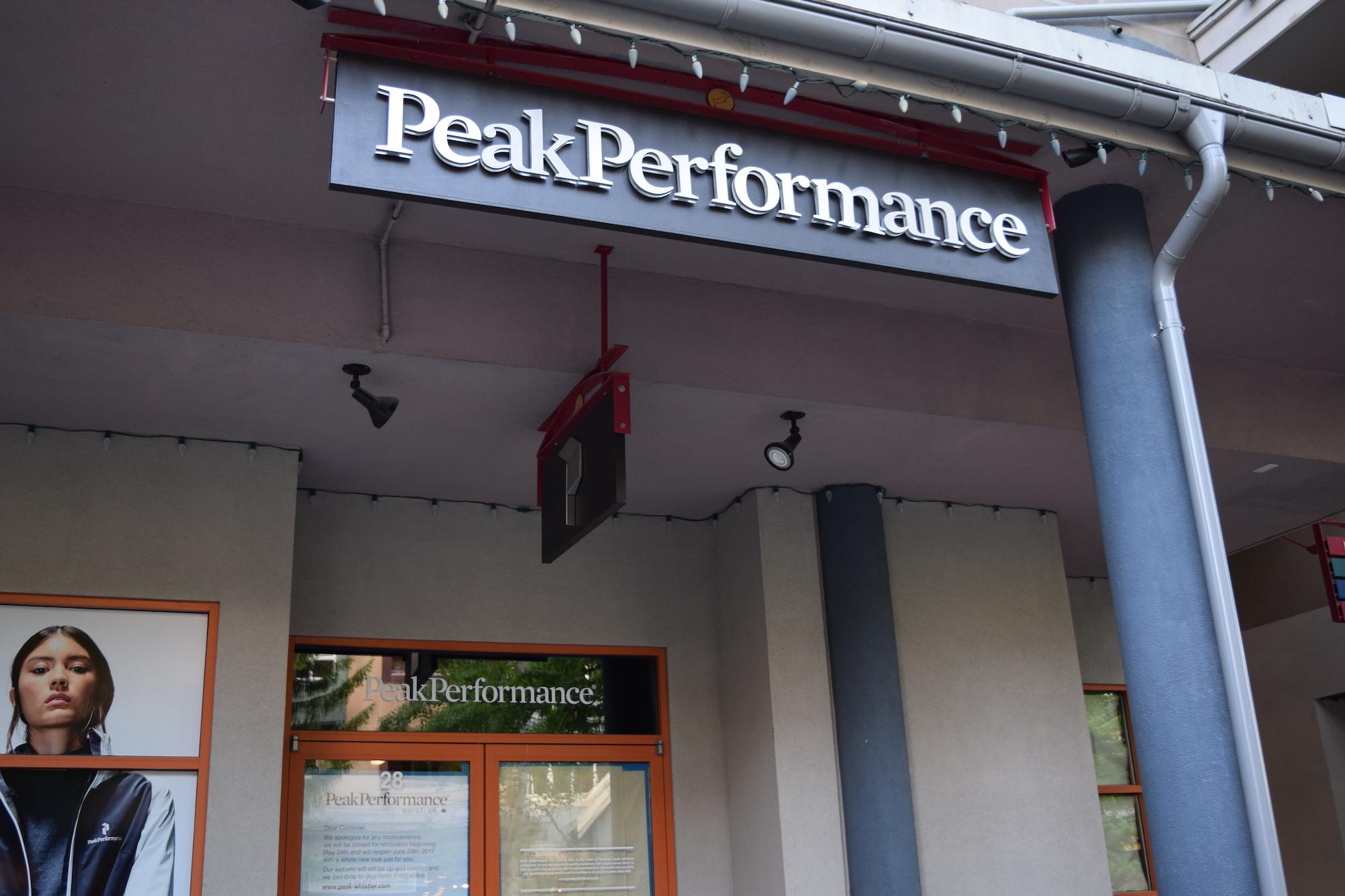 Whistler Peak Performance